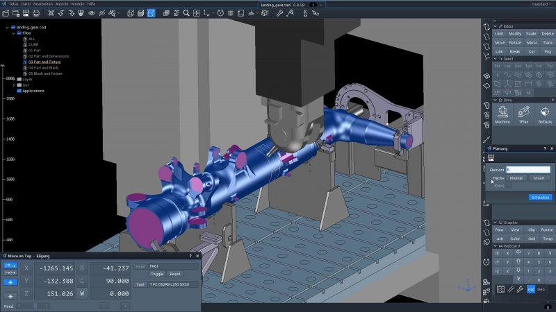 Software CAD CAM MES e verifica CNC in un'unica soluzione