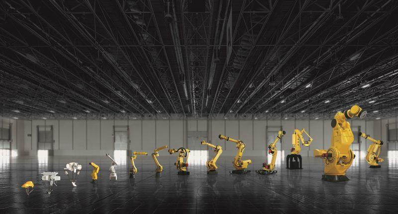 Robot FANUC per tutte le applicazioni industriali