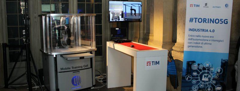 Comau protagonista a #Torino5G con TIM ed Ericsson