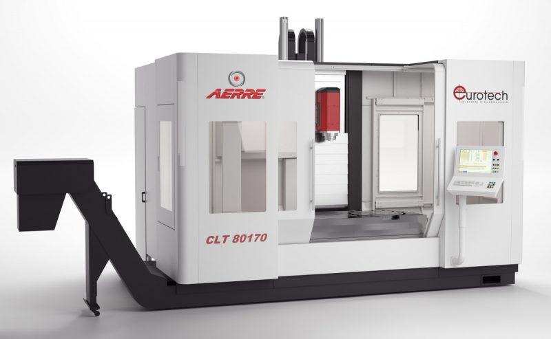 Centri di lavoro verticali CLT 80, la nuova gamma di Aerre / Eurotech
