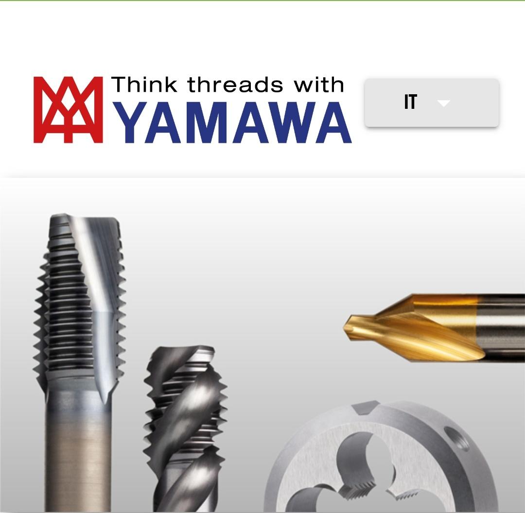 Tool Finder, tutti gli utensili Yamawa sempre a portata di mano
