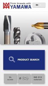 App Yamawa Tool Finder