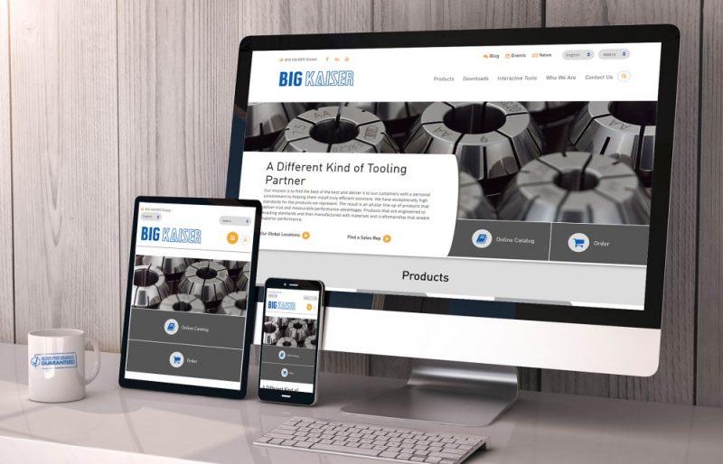 Big Kaiser, 70 anni e sito Internet rinnovato per l'Industria 4.0