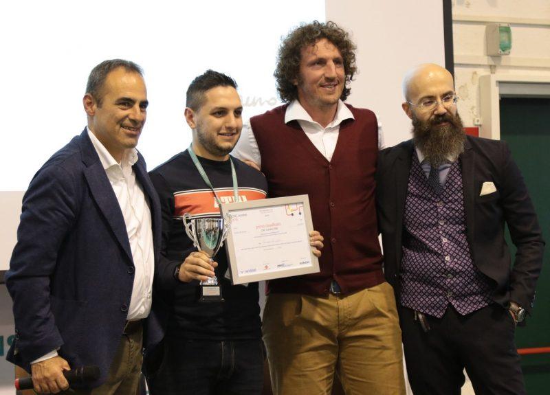 CNC Contest Randstad 2018, Giuseppe Lo Curcio miglior fresatore italiano