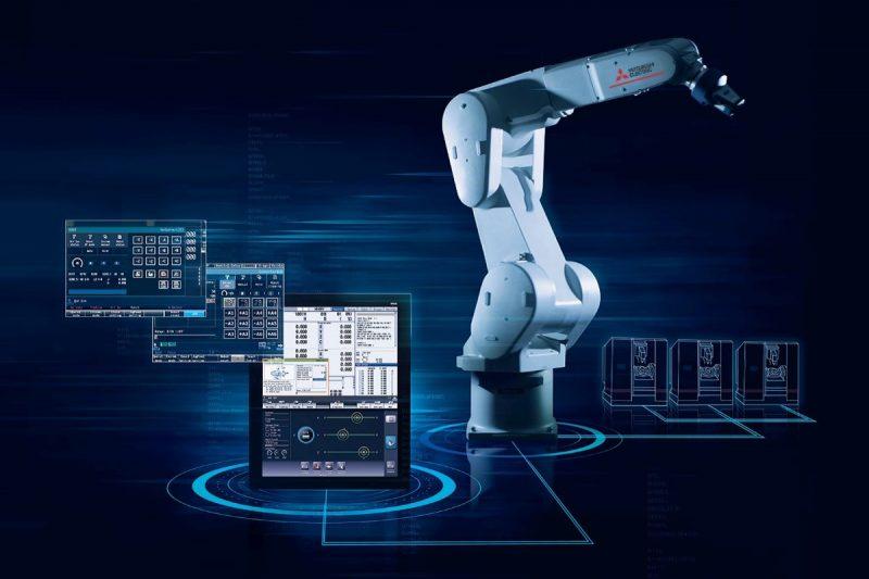 Controller CNC Mitsubishi Electric, funzioni evolute e integrazione con i robot