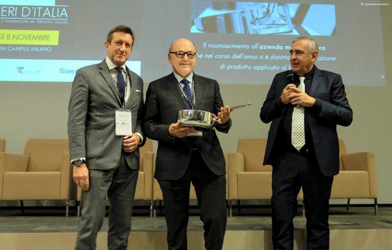 Mitsubishi Electric riceve il premio Copernico40