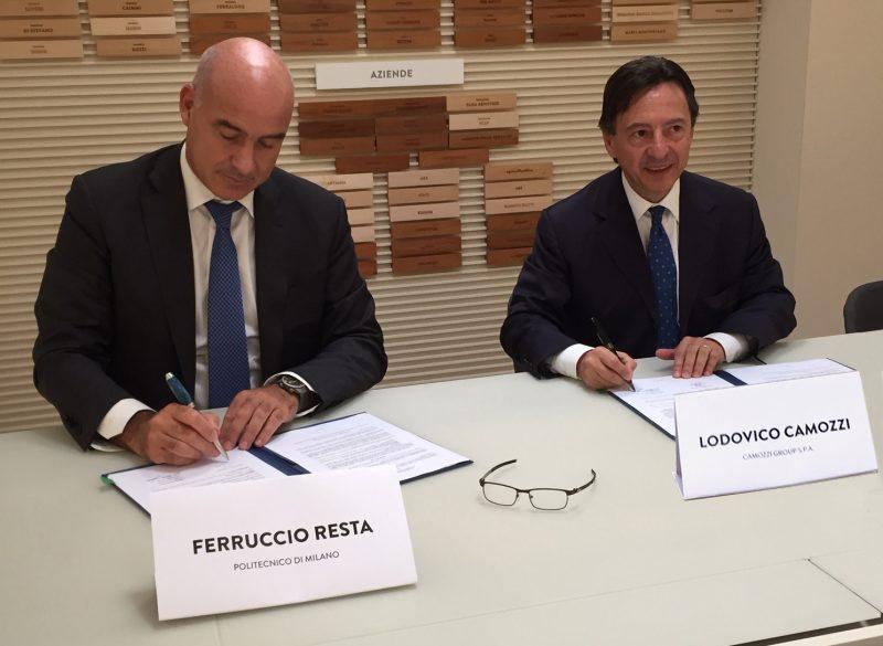Politecnico di Milano e Camozzi Group, collaborazione per la ricerca e la formazione scientifica