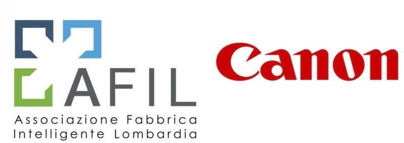 Canon entra nell'AFIL (Associazione Fabbrica Intelligente Lombardia)
