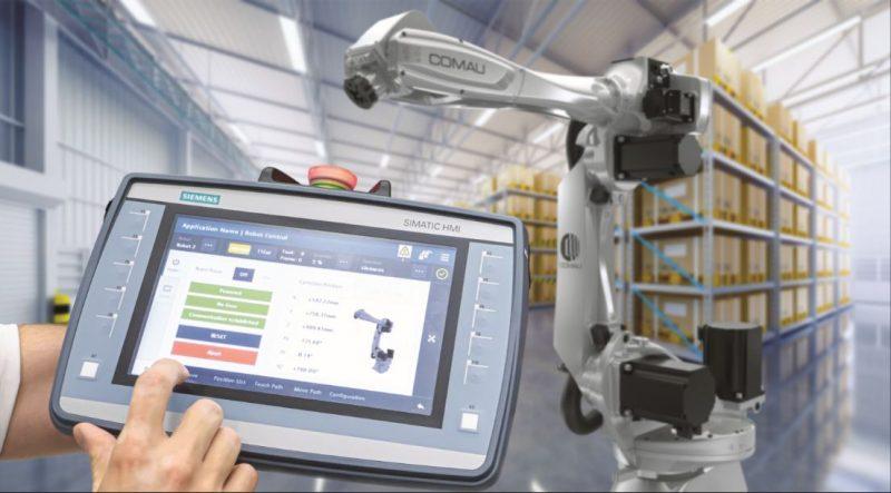 Comau e Siemens pionieri di un approccio innovativo che facilita la programmazione dei robot