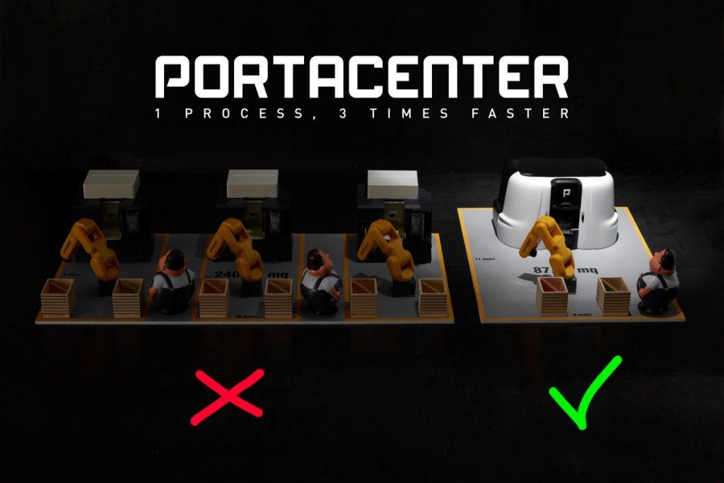Comparazione centri di lavoro Portacenter