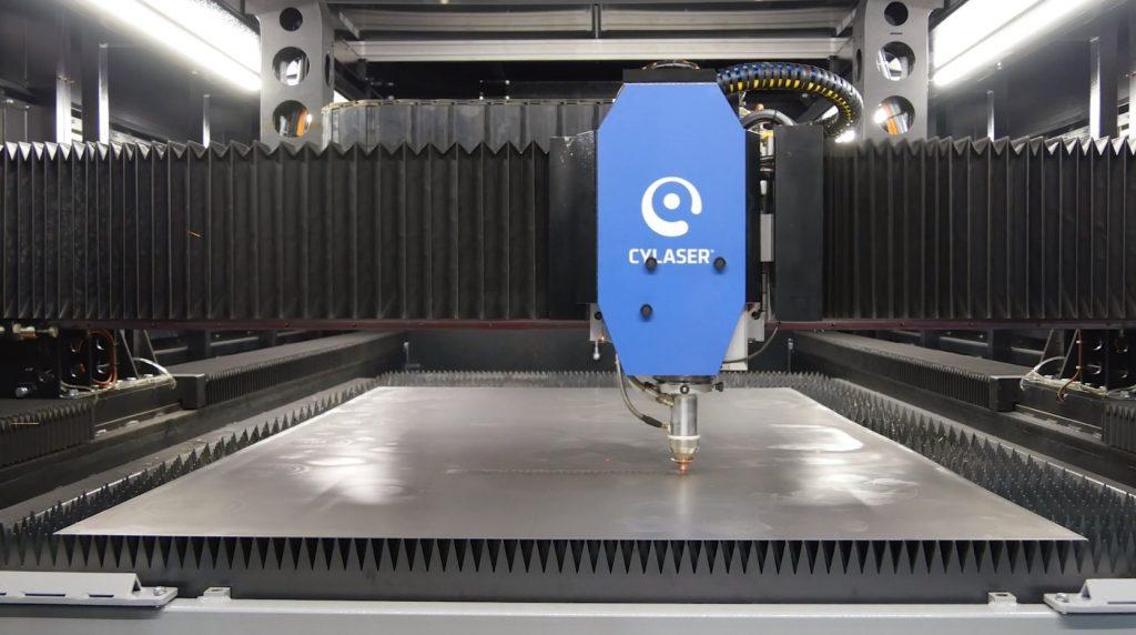 La Gantry tutta italiana veloce e ad alte prestazioni, che valorizza l'ecosistema CY-Laser