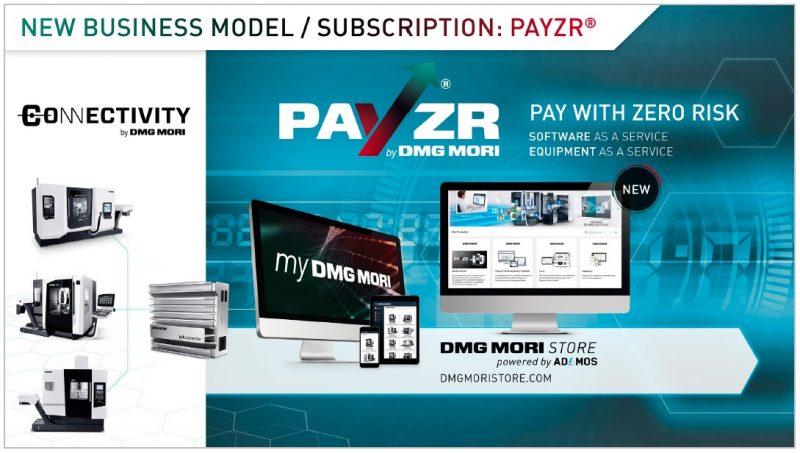 DMG Mori lancia PayZR con Abbonamento & All-In anziché Investimento & Acquisto