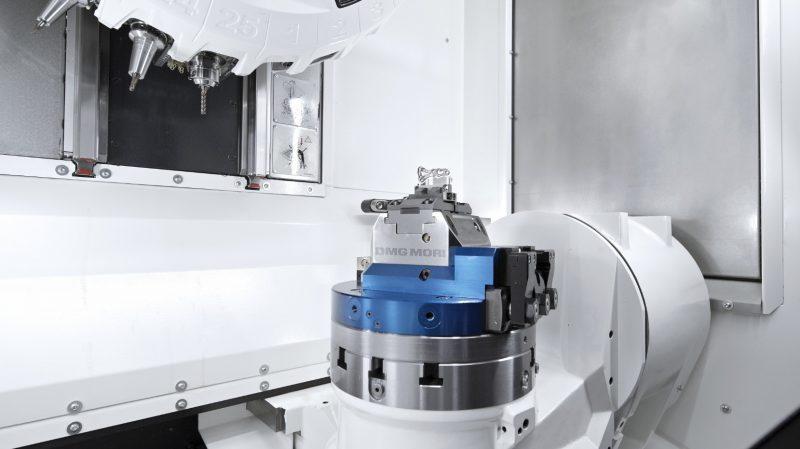 DMG Mori automatizza la lavorazione a 5 assi in spazi ridottissimi