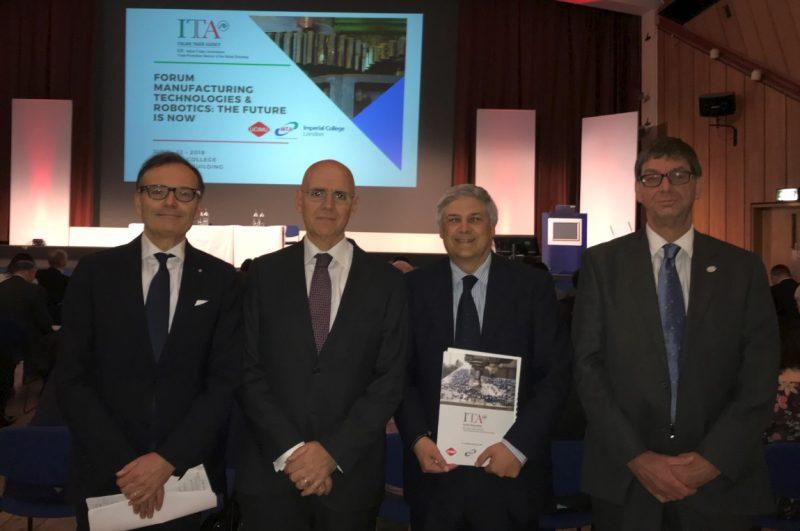 Manufacturing Technologies and Robotics, l'industria italiana si presenta al mercato britannico