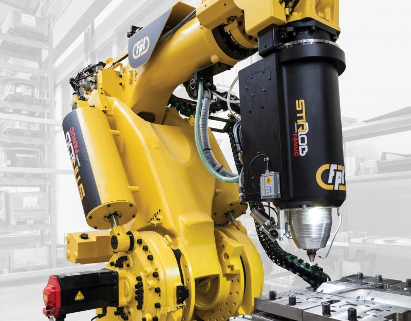 Robotic Friction Stir Welding, un evento da Fanuc e FPT Industrie a febbraio