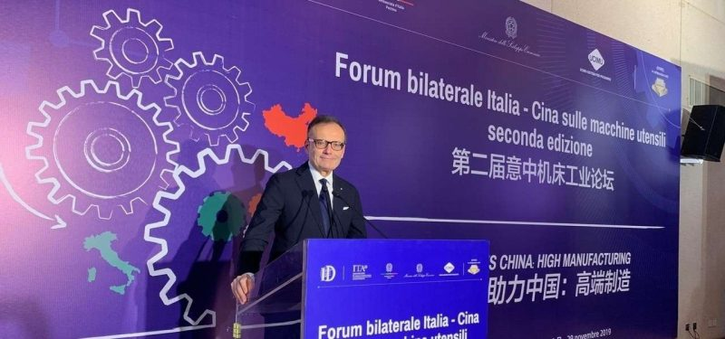 2° Forum Bilaterale Italia-Cina sulle macchine utensili