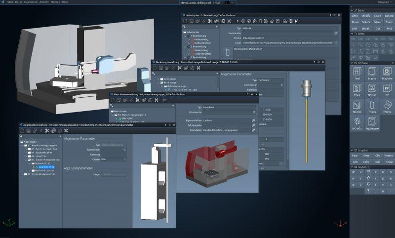 La digitalizzazione della produzione secondo il CAD CAM Tebis