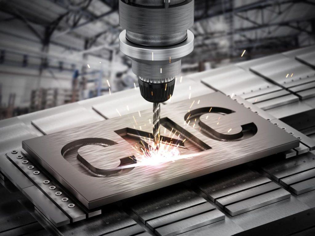 Fresatrice CNC