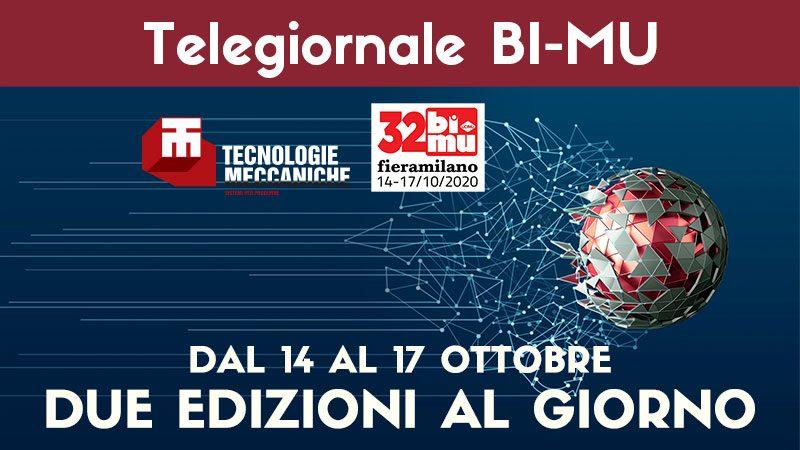 Torna il TG BIMU. Tecnologie Meccaniche racconta la 32esima edizione di BIMU