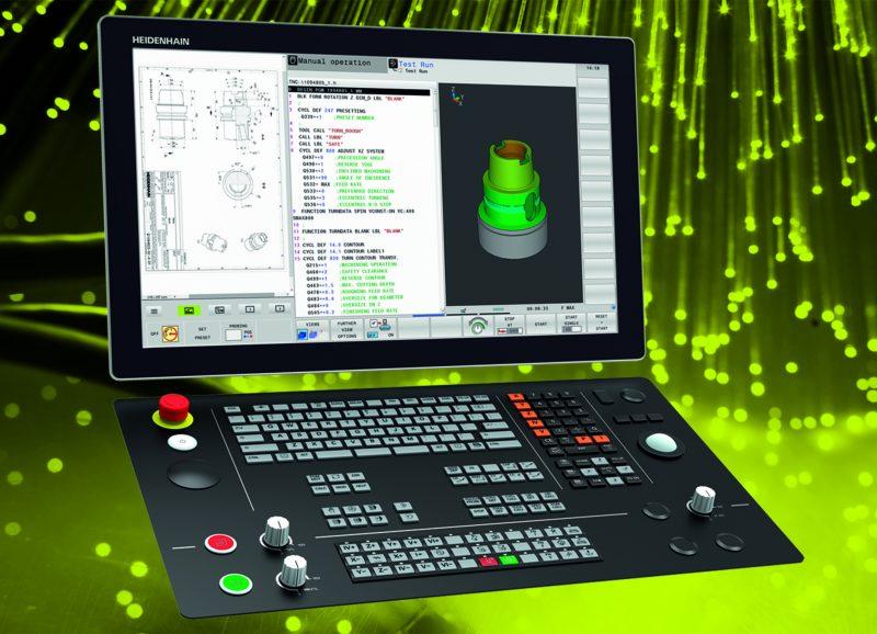 Heidenhain, CN e misura sicuri per una produzione precisa, dinamica ed efficiente