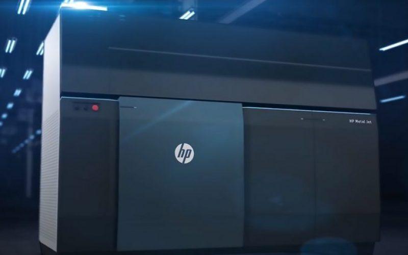 HP Metal Jet, una delle più avanzate tecnologie al mondo di stampa 3D per la produzione di massa