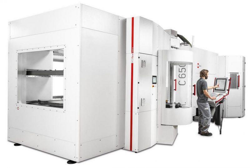 Hermle, sistema di automazione con peso di trasporto fino a 1200 kg