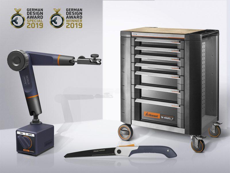 Hoffmann Group si aggiudica di nuovo il German Design Award 2019