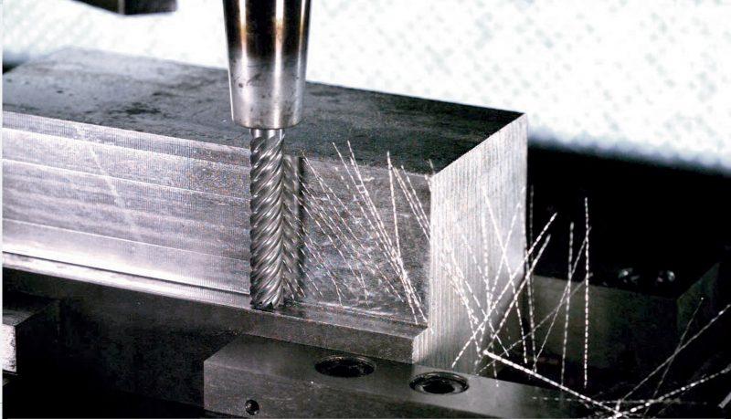 Fresa per finitura in metallo duro Garant MasterSteel HPC di Hoffmann