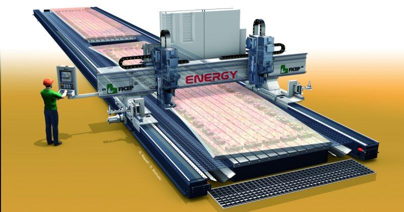 Ficep, lavorare le lamiere con Energy