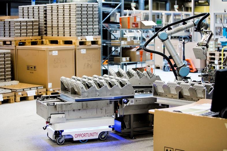 Mobile Industrial Robots, nel 2017 fatturato triplicato