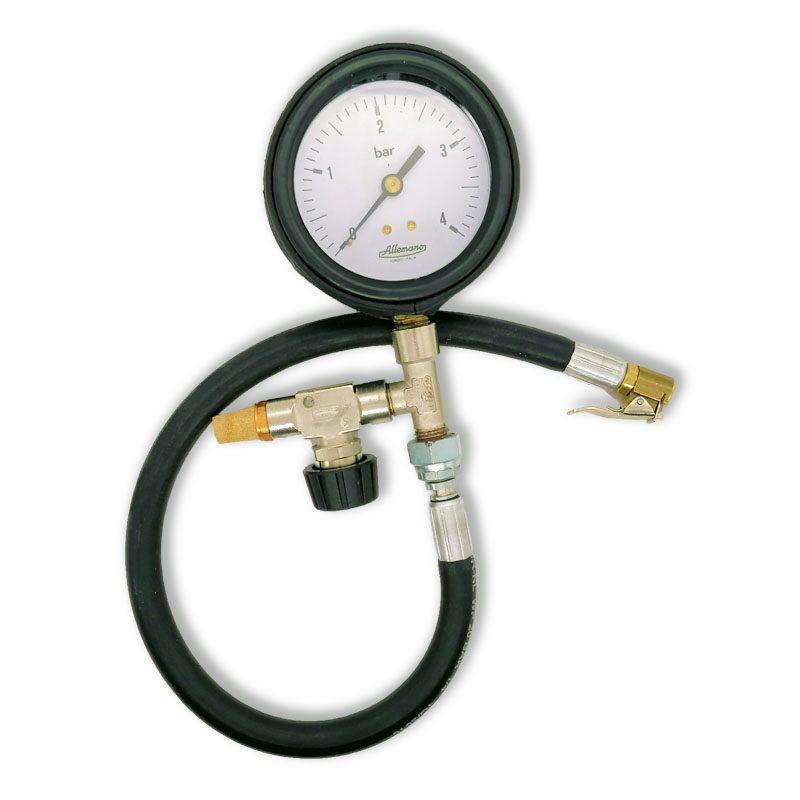 Manometro per prova pressione pneumatici MPPP80 Allemano