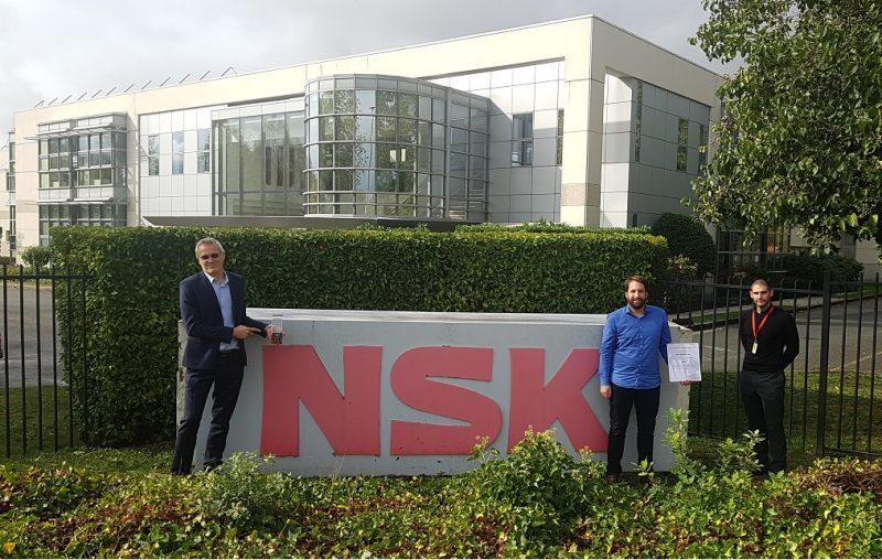 NSK vince due premi per i fornitori di Toyota