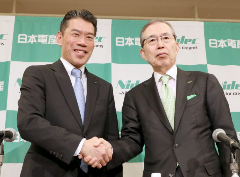 Hiroyuki Yoshimoto nuovo presidente Nidec