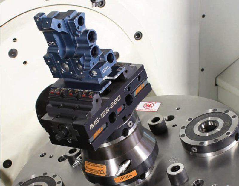 Morsa meccanica autocentrante IMG di OML, produttività e versatilità
