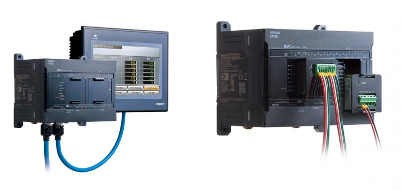 Omron, il controllore serie CP2E porta le funzionalità IoT nelle applicazioni compatte