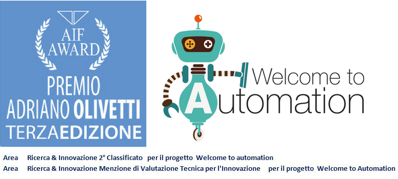"Il progetto ""Welcome to Automation"" di Balluff Automation si classifica 2° al Premio AIF Olivetti"