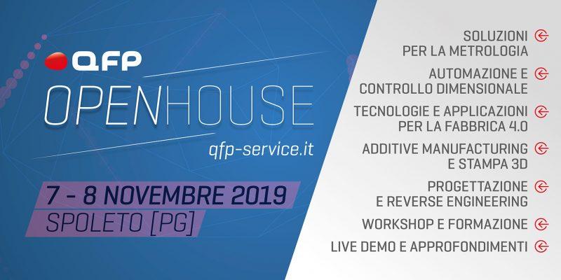 QFP, porte aperte a Spoleto il 7-8 novembre