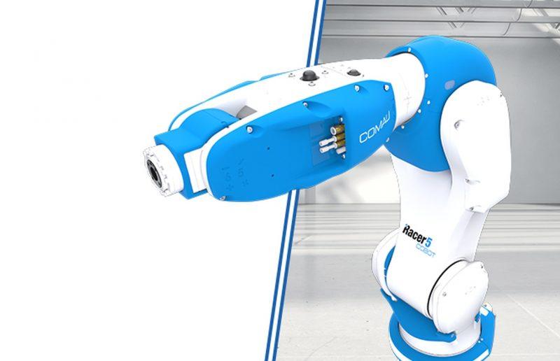 Racer-5-0.80 COBOT di Comau: i robot collaborativi diventano produttivi