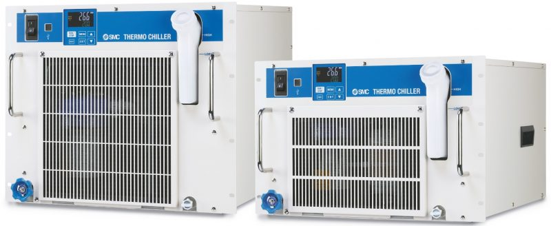 SMC introduce i Thermo Chiller per montaggio su rack
