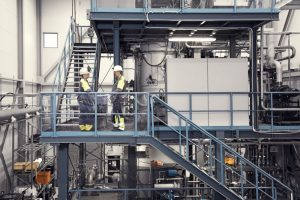 L'impianto di produzione polveri metalliche Sandvik a Sandviken, in Svezia