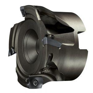 Sandvik Coromant sfrutta le tecnologie additive per realizzare versioni alleggerite dei propri utensili, come questa CoroMill 390