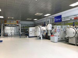 Il reparto trattamenti termici di Beamit presso lo stabilimento di Rubbiano di Solignano (PR)