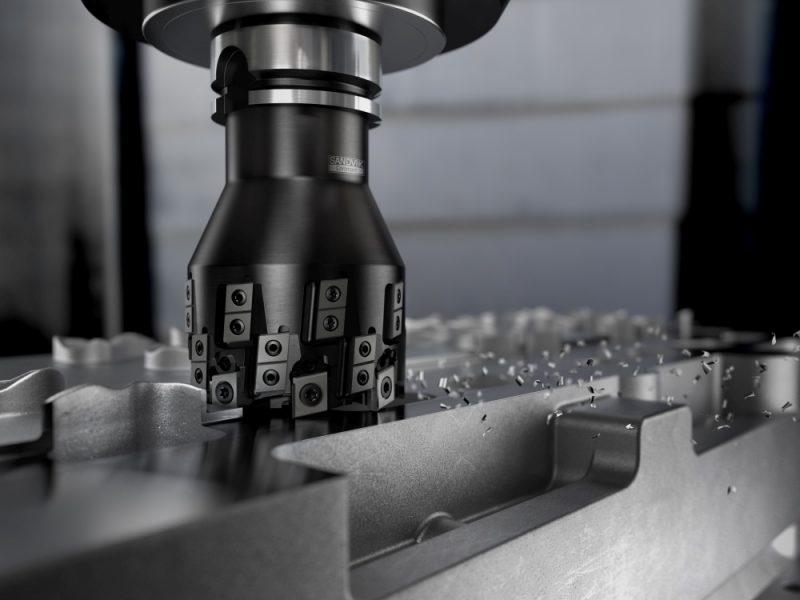 Sandvik Coromant, la fresa tangenziale M5Q90 ottimizza la lavorazione dell'alluminio
