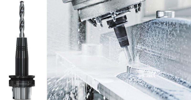 Il portautensile a espansione idraulica Tendo Slim 4ax ora con tecnologia cool flow