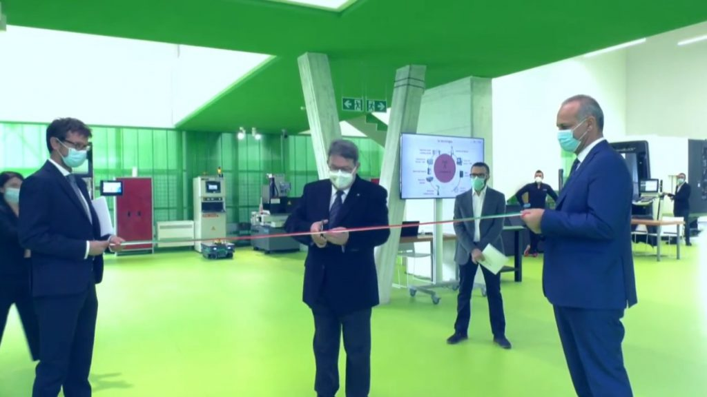 Le tecnologie 4.0 di Siemens per la linea pilota del Competence Center Bi-Rex