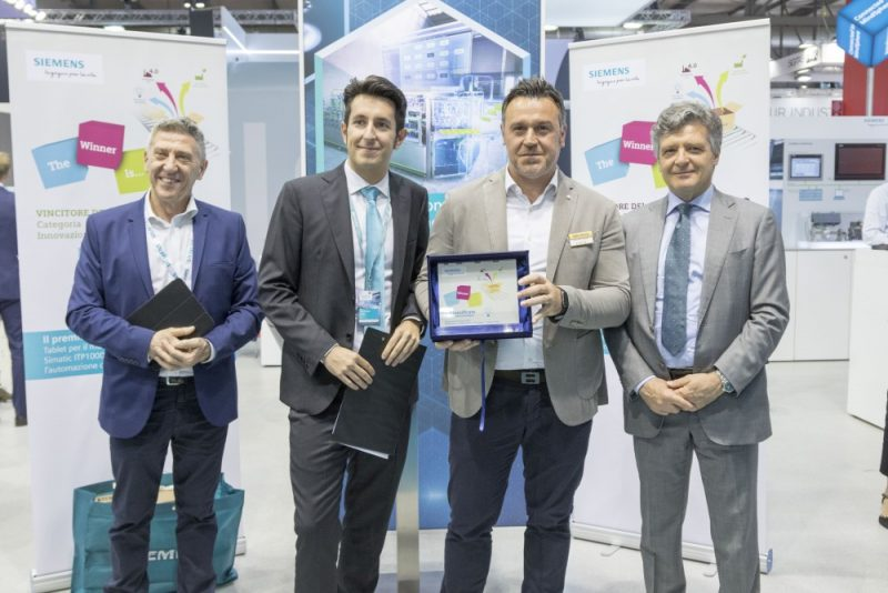 L'innovazione sul podio dei Siemens Pack Award