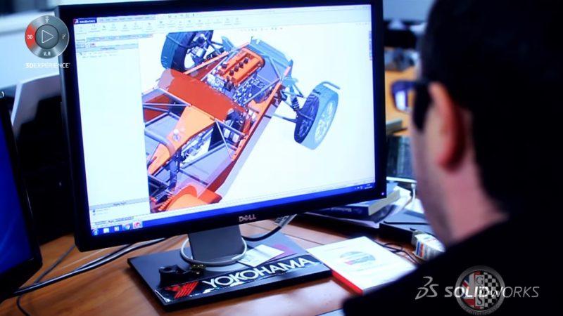 Il software SolidWorks dà una nuova interpretazione alle auto d'epoca inglesi