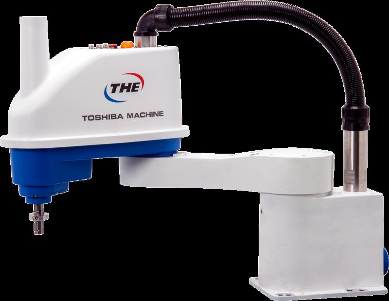 Robot antropomorfo e Scara ad alta velocità in isola di manipolazione con controllore TS5000
