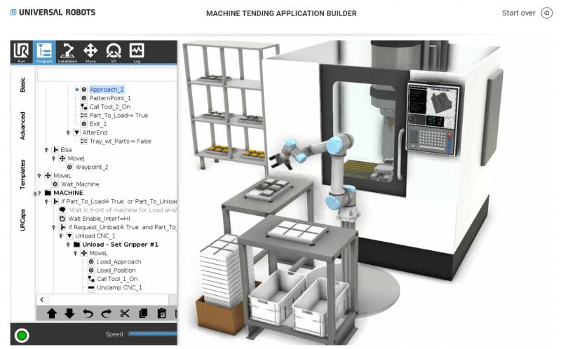 Universal Robots, con Application Builder un tool per costruire con semplicità applicazioni robotizzate