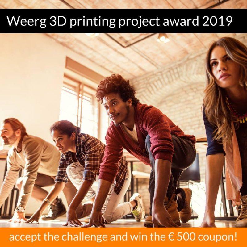 Weerg 3D Printing Project Award: torna il premio per il design più iconico